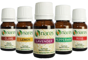 nares essential oils feature product